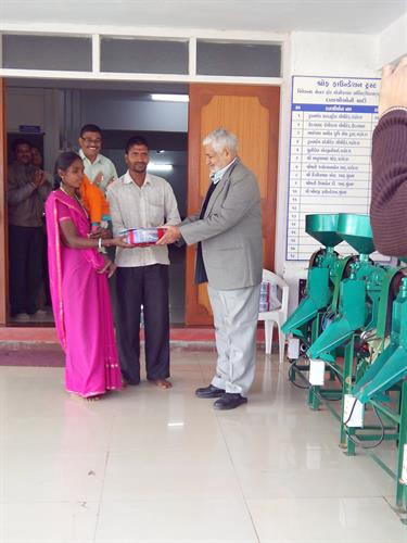 Entrepreneurship Development through Mini Rice Mill