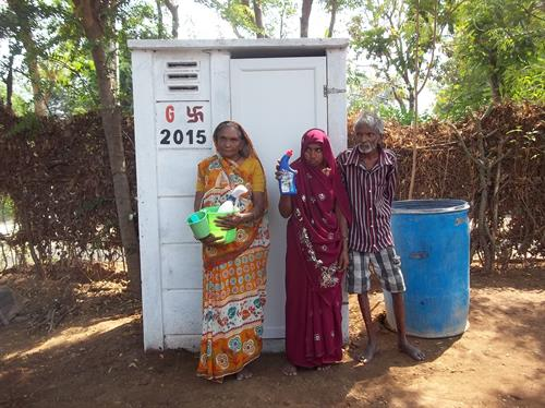 Household Sanitation Latrine Unit @ Angadh Village