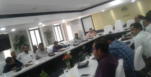 Meeting with NABARD at Ahmedabad on 23rd July 2019
